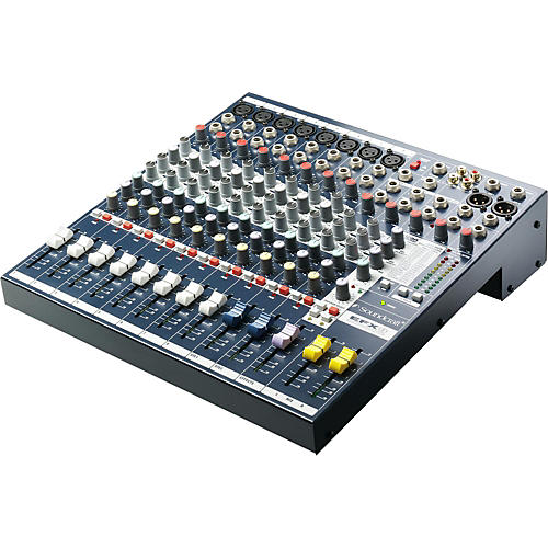 Soundcraft EFX 8-Channel Mixer thumbnail