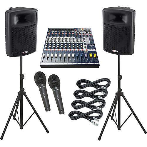 Soundcraft EFX8 / Harbinger APS15 PA Package thumbnail