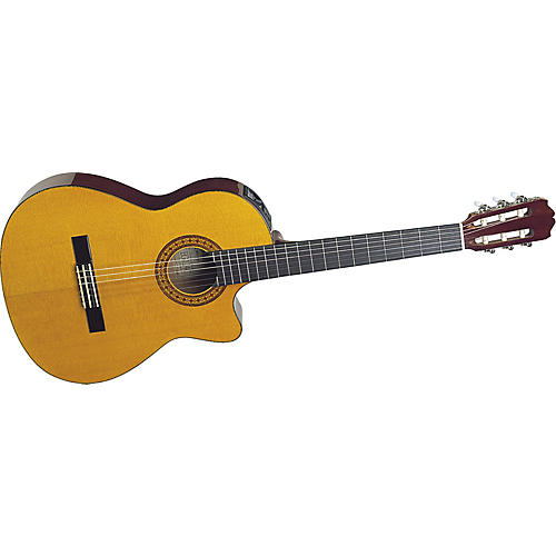 Takamine EG124C G Series Cutaway Acoustic-Electric Classical Guitar thumbnail