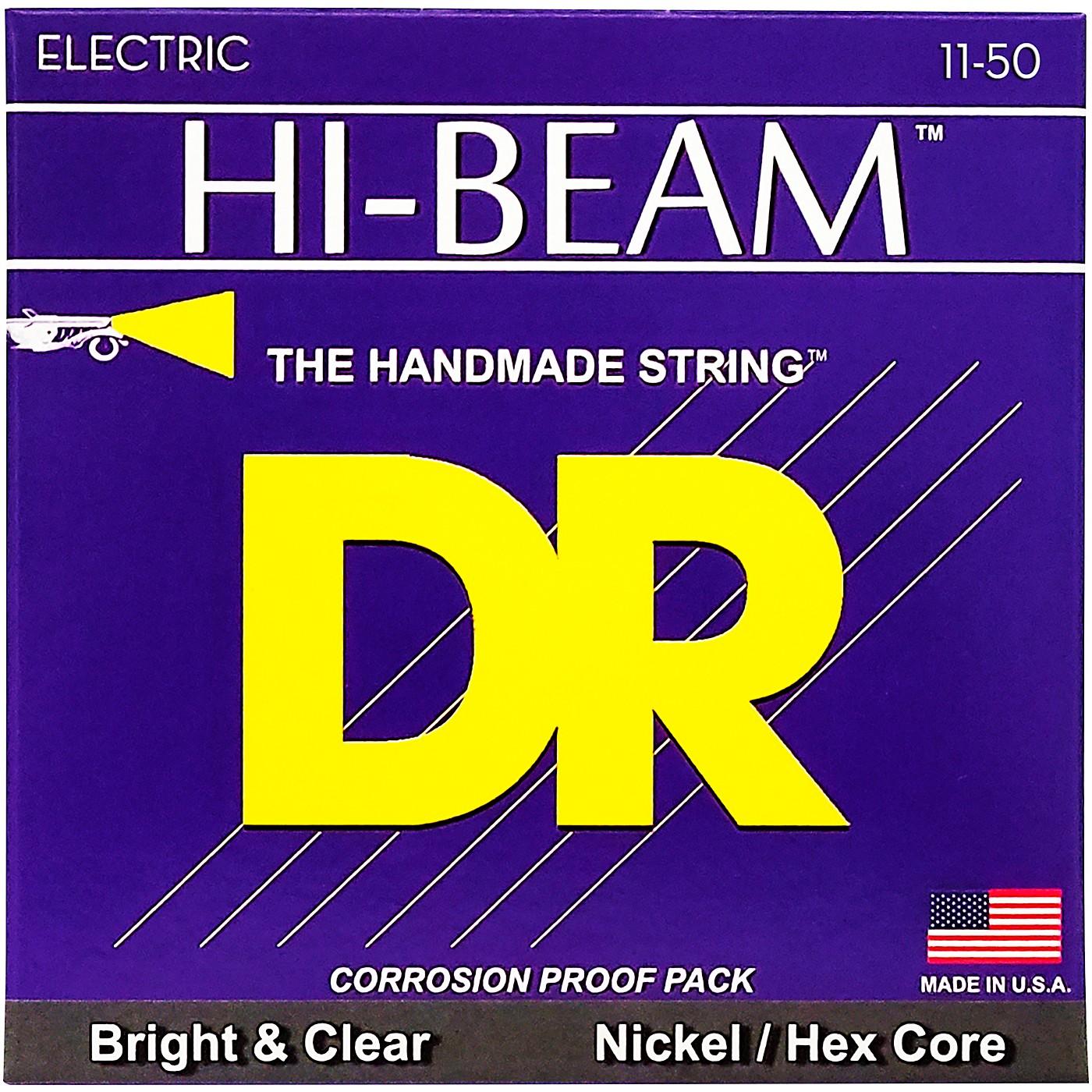 DR Strings EHR11 HiBeam Nickel Heavy Electric Guitar Strings thumbnail