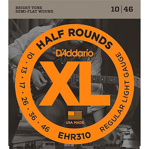 D'Addario EHR310 Half Round Regular Light Electric Guitar Strings thumbnail