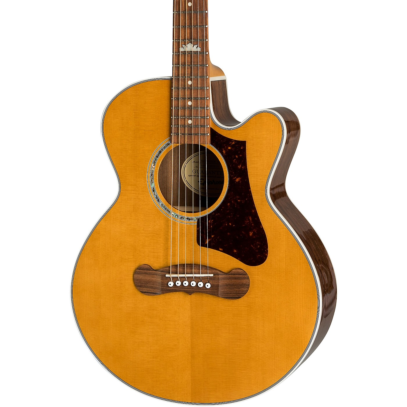 Epiphone EJ-200SCE Coupe Acoustic-Electric Guitar thumbnail