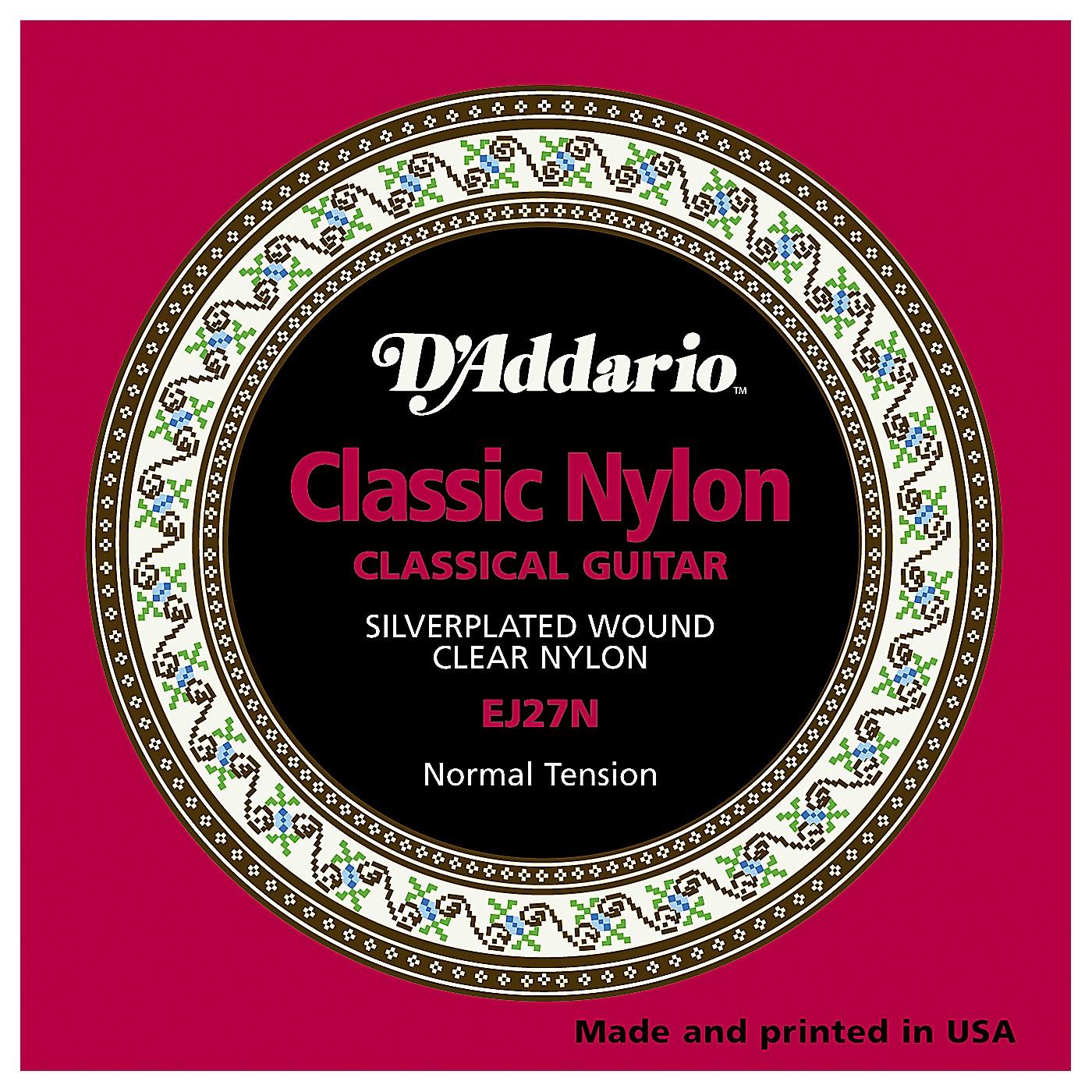 D'Addario EJ27N Normal Tension Classical Guitar Strings thumbnail