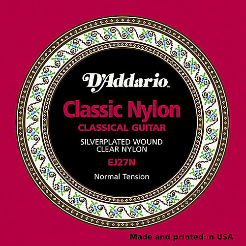 D'Addario EJ27N Normal Tension Classical Guitar Strings thumbnail