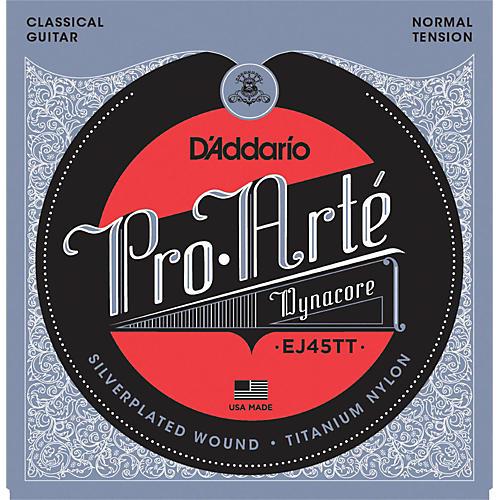 D'Addario EJ45TT ProArte DynaCore Normal Classical Guitar Strings thumbnail