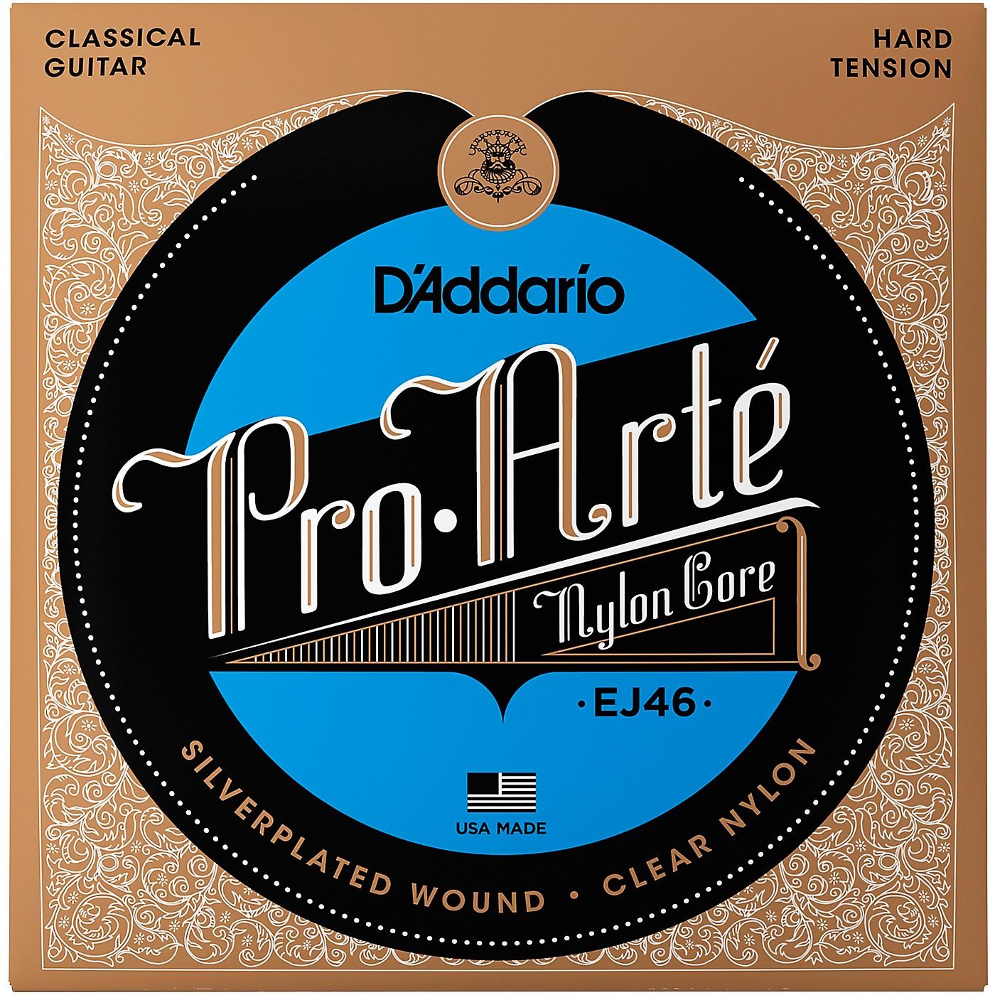 D'Addario EJ46 Pro-Arte Hard Tension Classical Guitar Strings thumbnail