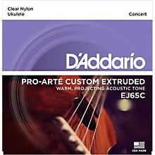 D'Addario EJ65C Pro-Arte Custom Extruded Concert Nylon Ukulele Strings