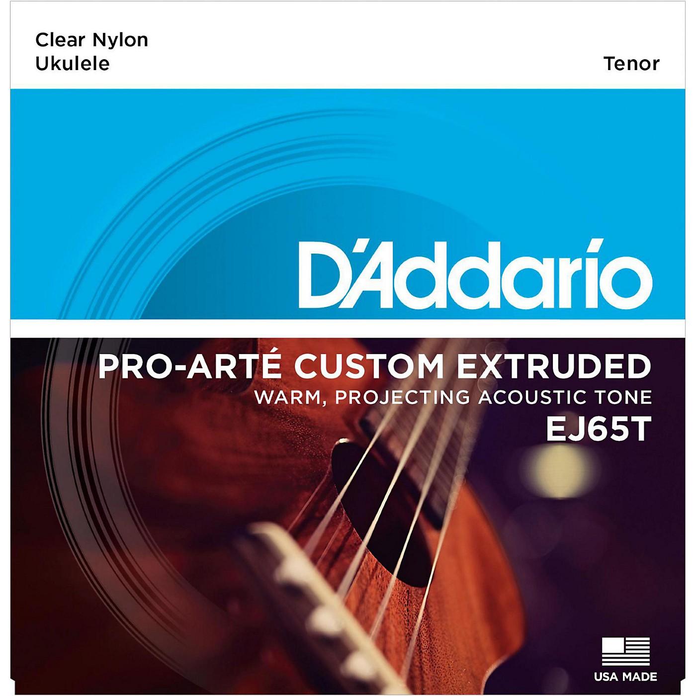 D'Addario EJ65T Pro-Arte Custom Extruded Tenor Nylon Ukulele Strings thumbnail