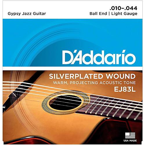 D'Addario EJ83L Gypsy Jazz Silver Wound Light Acoustic Guitar Strings thumbnail