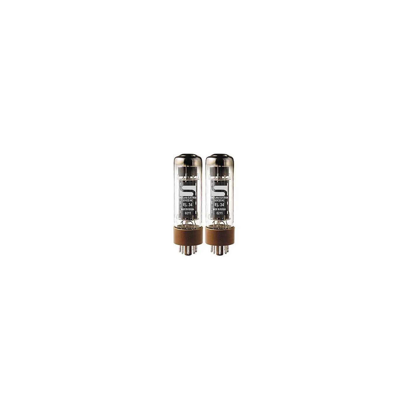 Svetlana EL34 Matched Power Tubes thumbnail