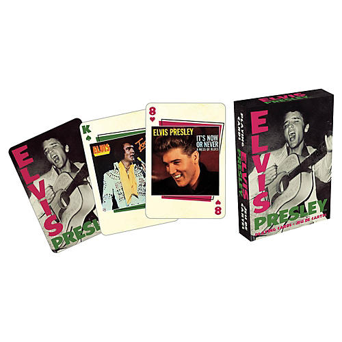 Hal Leonard ELVIS COVERS PLAYING CARD DECK thumbnail