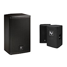 "Electro-Voice ELX112P Active 12"" Loudspeaker  and Cover Kit"