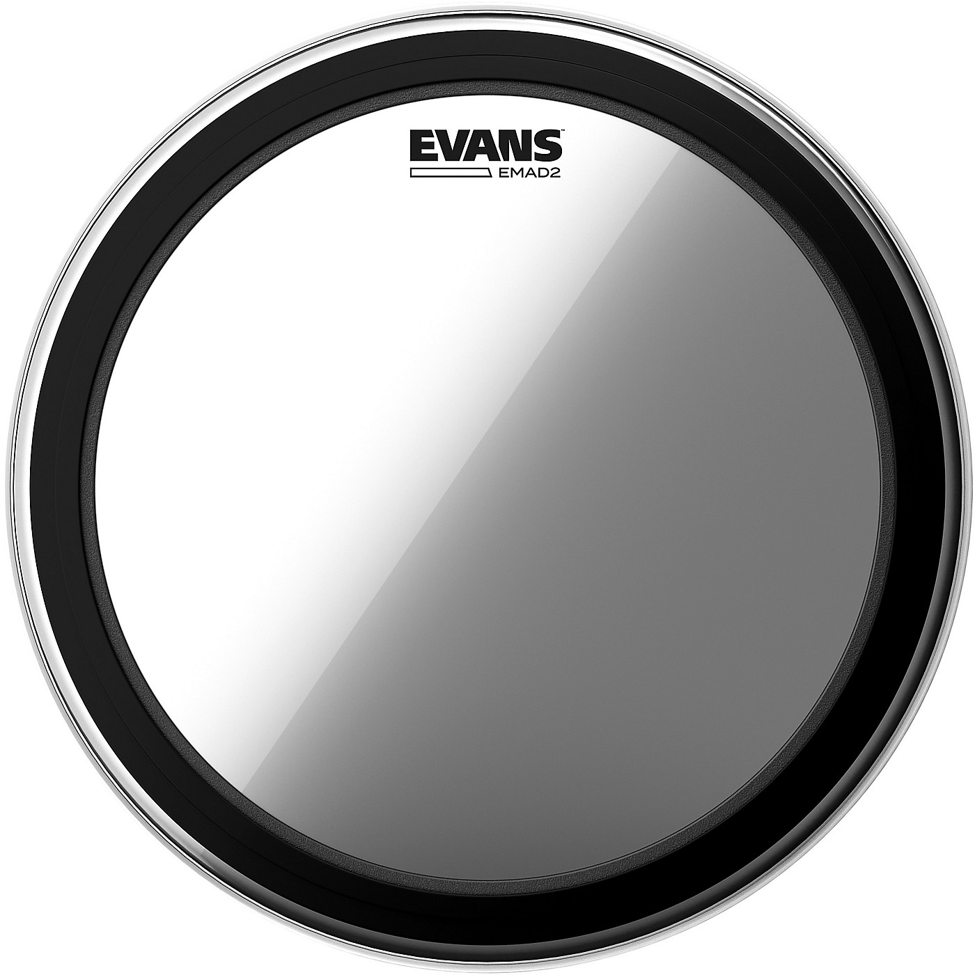 Evans EMAD 2 Clear Batter Bass Drumhead thumbnail