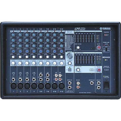 Yamaha EMX212S 12-Channel Powered Mixer-thumbnail