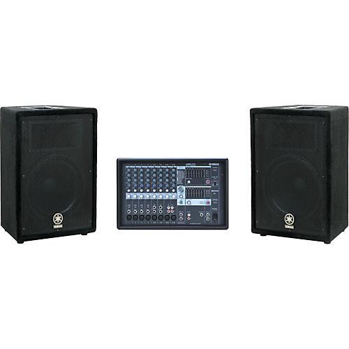Yamaha EMX212S mixer / A12 Speaker Package-thumbnail