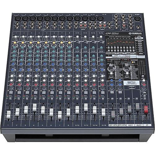 Yamaha EMX5016CF 16-Input Powered Mixer with Dual 500-Watt Power Amps thumbnail