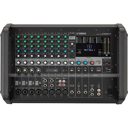 Yamaha EMX7 12-Input Powered Mixer with Dual 710 Watt Amp thumbnail