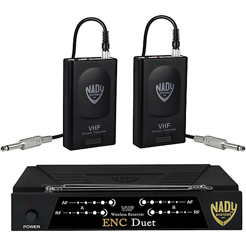 Nady ENC Duet Dual Wireless Instrument System thumbnail