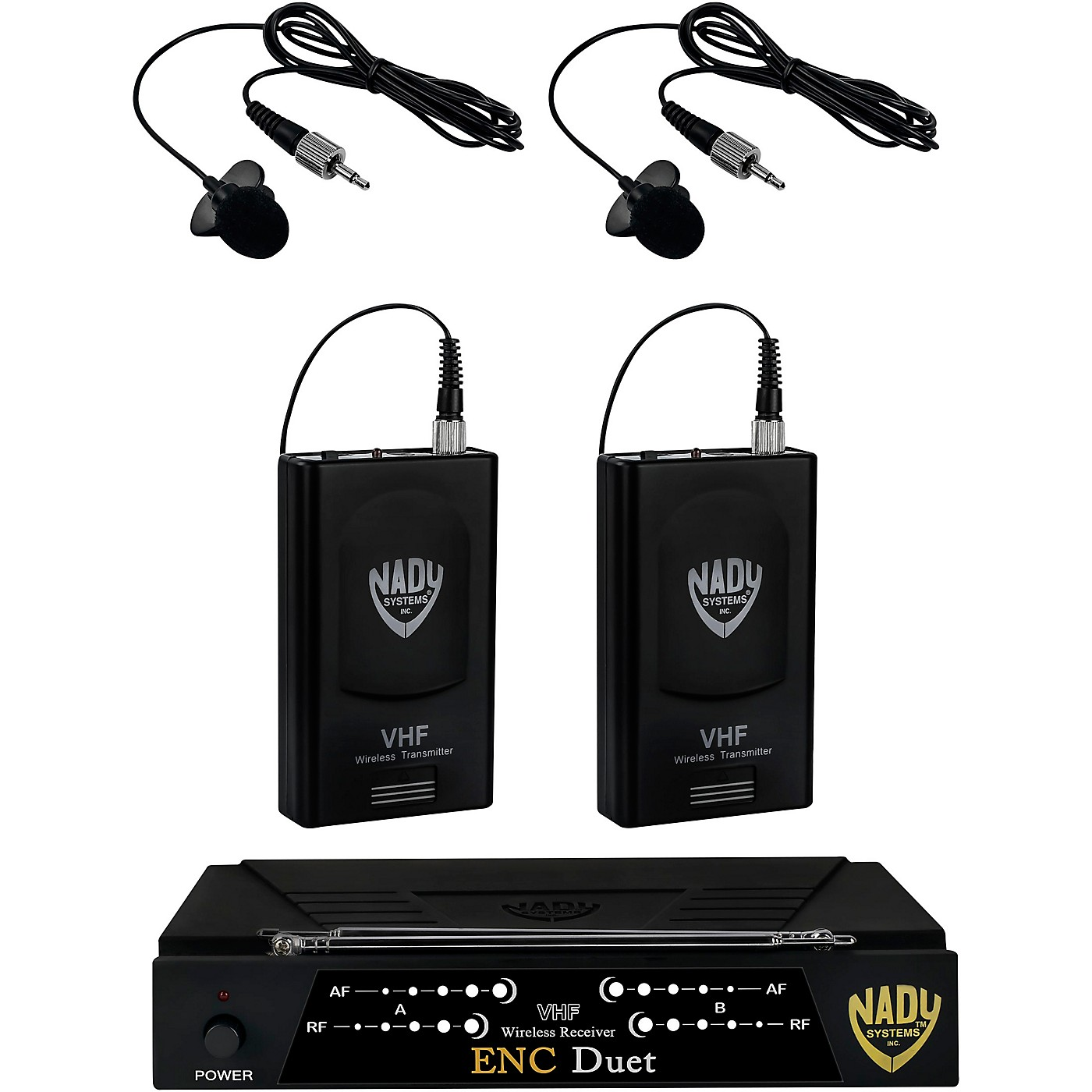 Nady ENC Duet Dual Wireless Lapel Microphone System thumbnail