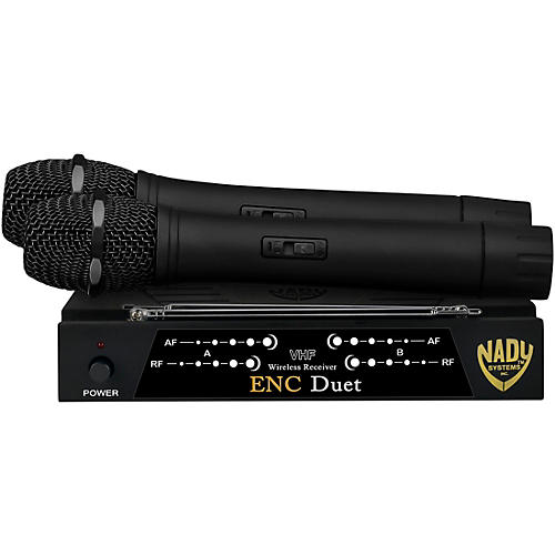 Nady ENC Duet Wireless Handheld Microphone System thumbnail