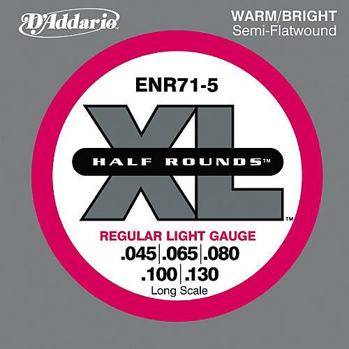 D'Addario ENR71 5 Half Rounds Light 5 String Bass Strings thumbnail