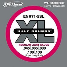 D'Addario ENR71-5SL Half Rounds Super Long Scale Light 5-String Bass Strings