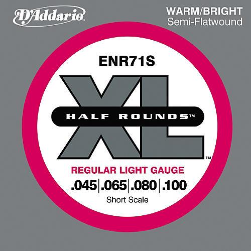D'Addario ENR71S Half Rounds Light Bass Strings thumbnail