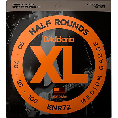 D'Addario ENR72 Half Rounds Medium Bass Strings thumbnail