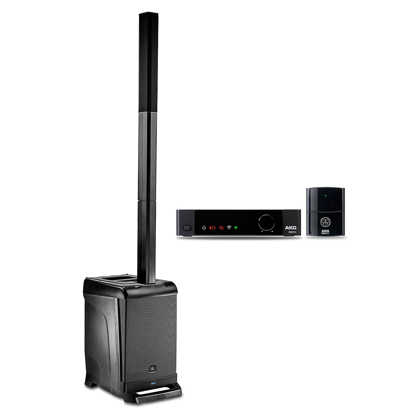 JBL EON ONE PA Package with DMS100 Wireless Instrument Mic Set thumbnail
