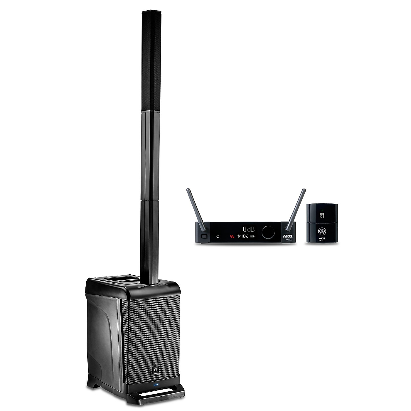 JBL EON ONE PA Package with DMS300 Wireless Instrument Mic thumbnail