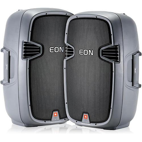 JBL EON315 15 280 Watt Powered PA Speaker (Pair) thumbnail