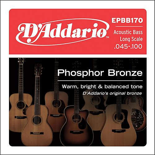 D'Addario EPBB170 PB Soft Acoustic Bass String Set thumbnail