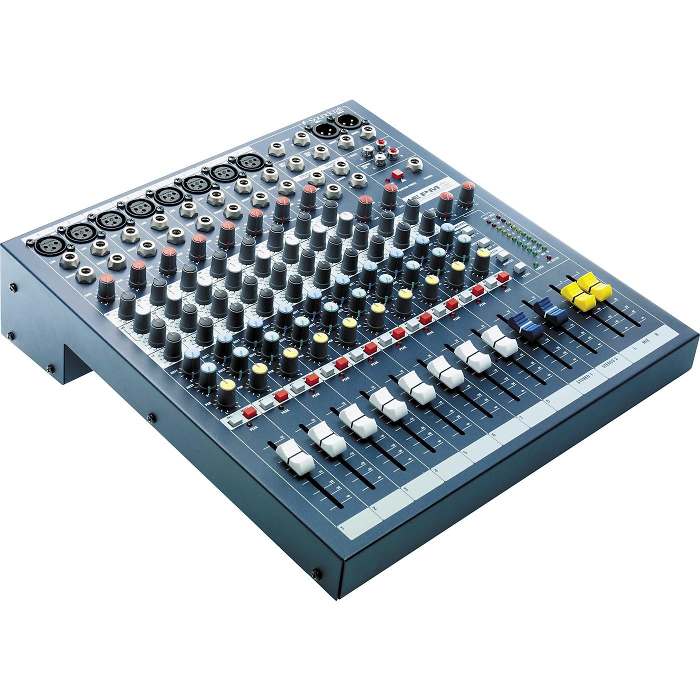 Soundcraft EPM8 8-Channel Multi-format Mixer thumbnail