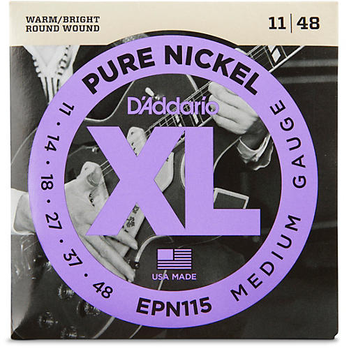 Electric Guitar Strings For Blues : d 39 addario epn115 pure nickel electric guitar blues jazz electric guitar strings woodwind ~ Hamham.info Haus und Dekorationen