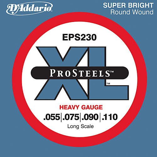 D'Addario EPS230 ProSteel Long Scale Bass Strings Heavy thumbnail