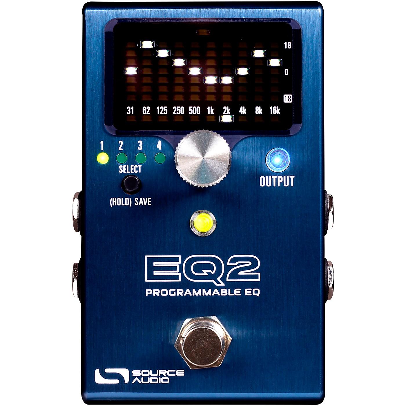 Source Audio EQ2 Programmable EQ Pedal thumbnail