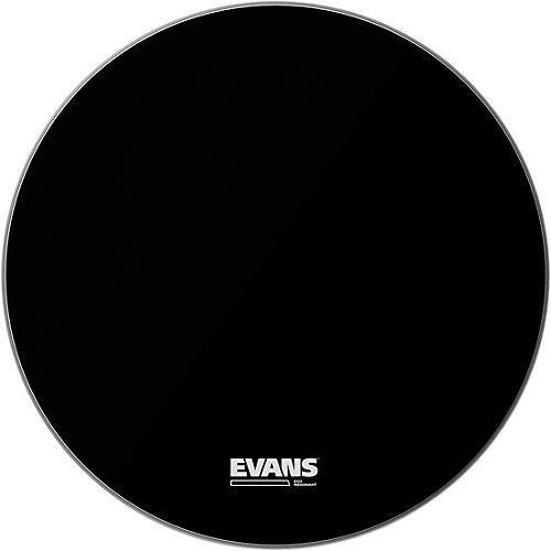 Evans EQ3 Resonant Black Tom Drumhead for Floor Tom Conversion thumbnail