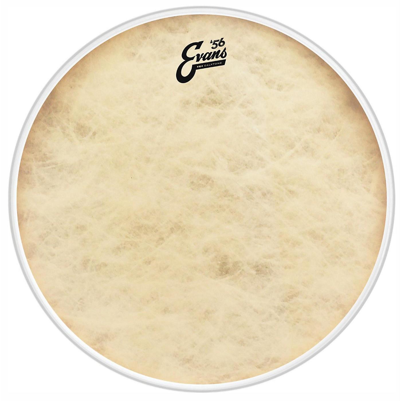 Evans EQ4 Calftone Tom Hoop Drum Head thumbnail