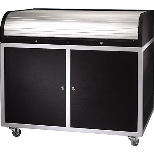 Raxxess ERT-ST Steel Roll Top Desk thumbnail