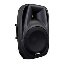 "Gemini ES-12BLU 12"" ABS powered Loudspeaker with Bluetooth MP3 player"