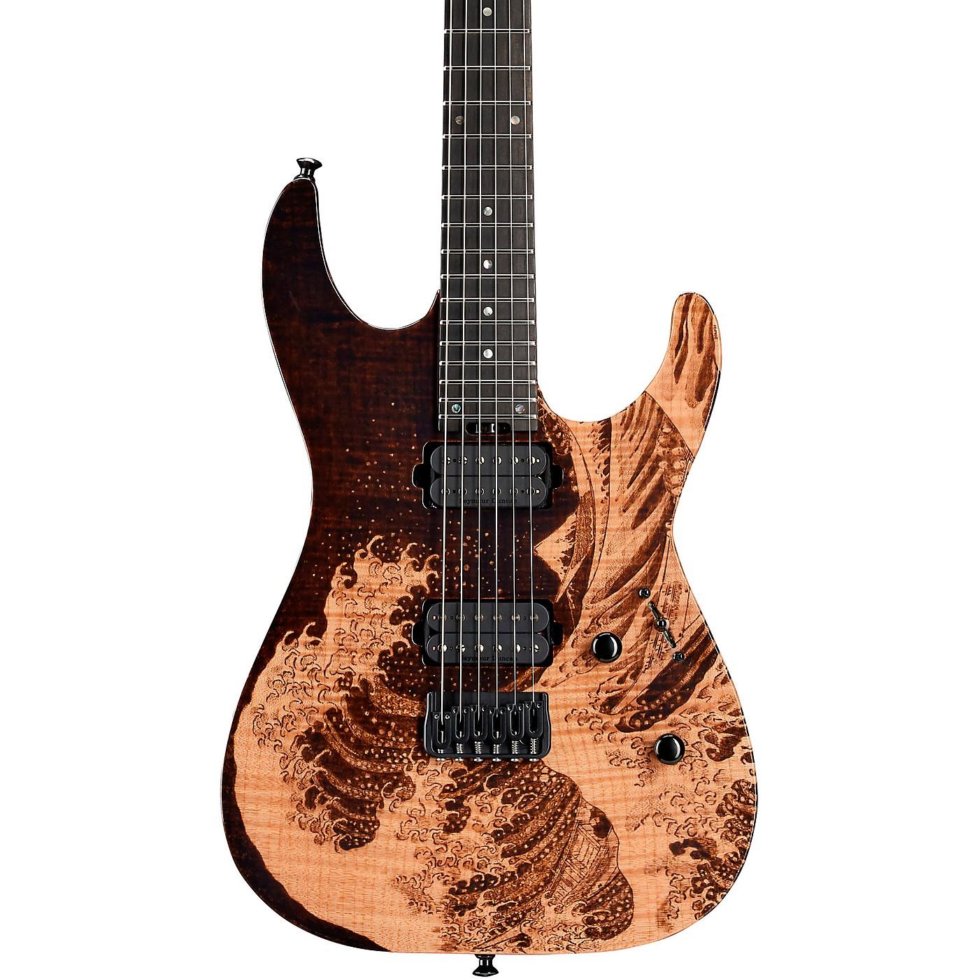 ESP ESP USA M-II Hardtail Great Wave Electric guitar thumbnail