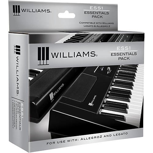 Williams ESS1 Essentials Pack for Legato Digital Piano thumbnail