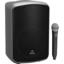Behringer EUROPORT MPA200BT Portable Bluetooth Wireless Rechargeable 8 in. Speaker with Microphone