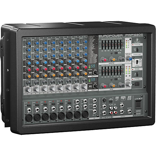 Behringer EUROPOWER PMP1680S 10-Channel Powered Mixer thumbnail