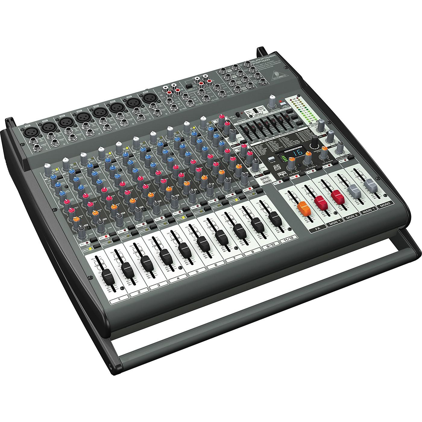 Behringer EUROPOWER PMP4000 16 Ch Powered Mixer w FX thumbnail