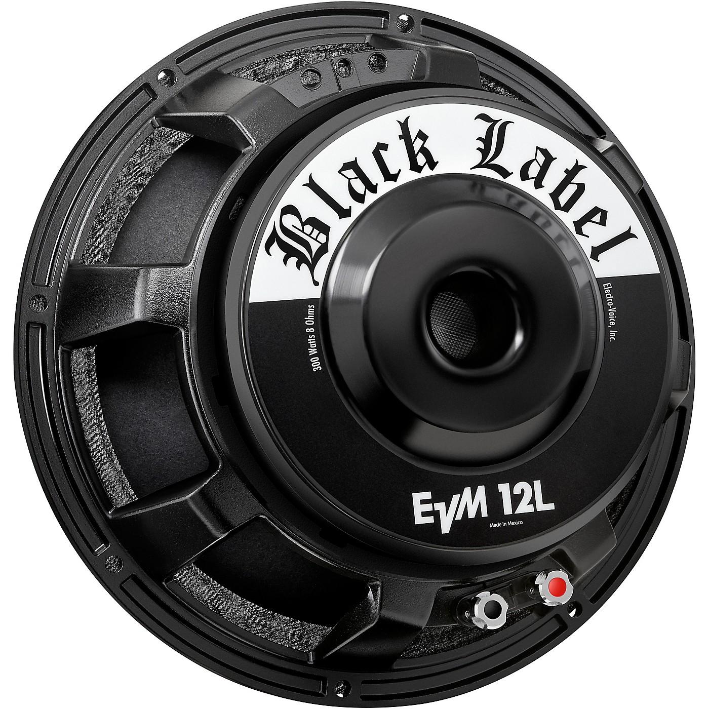 Electro-Voice EVM12L Black Label 8 Ohm Speaker thumbnail