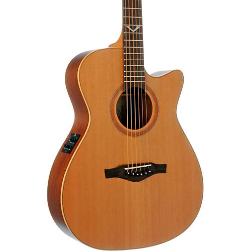 EKO EVO Series Auditorium Cutaway Acoustic-Electric Guitar-thumbnail