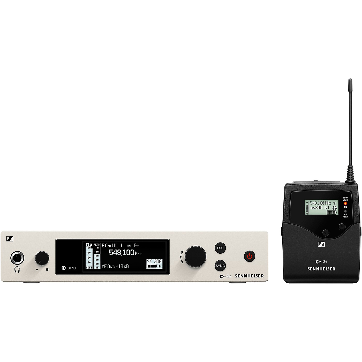 Sennheiser EW 300 G4-BASE SK-RC Wireless Bodypack Base Set thumbnail