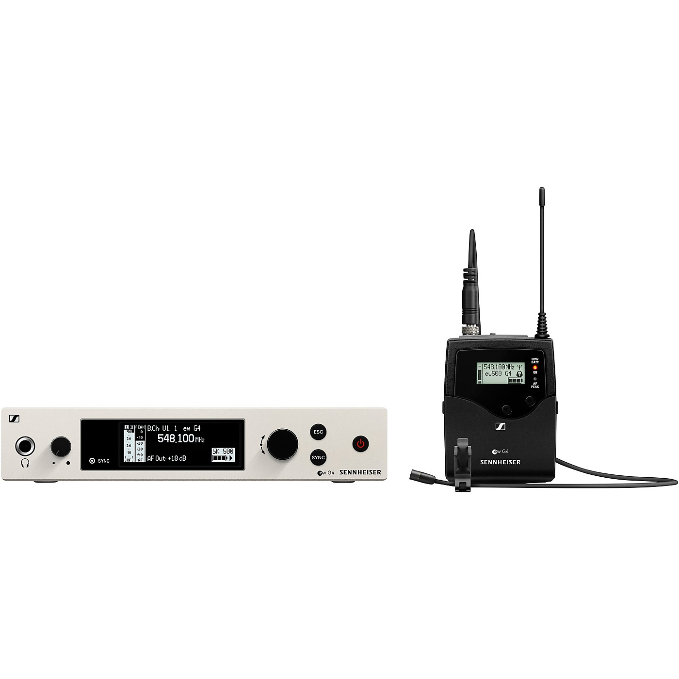 Sennheiser EW 500 G4-MKE2 Wireless Lavalier Microphone System thumbnail