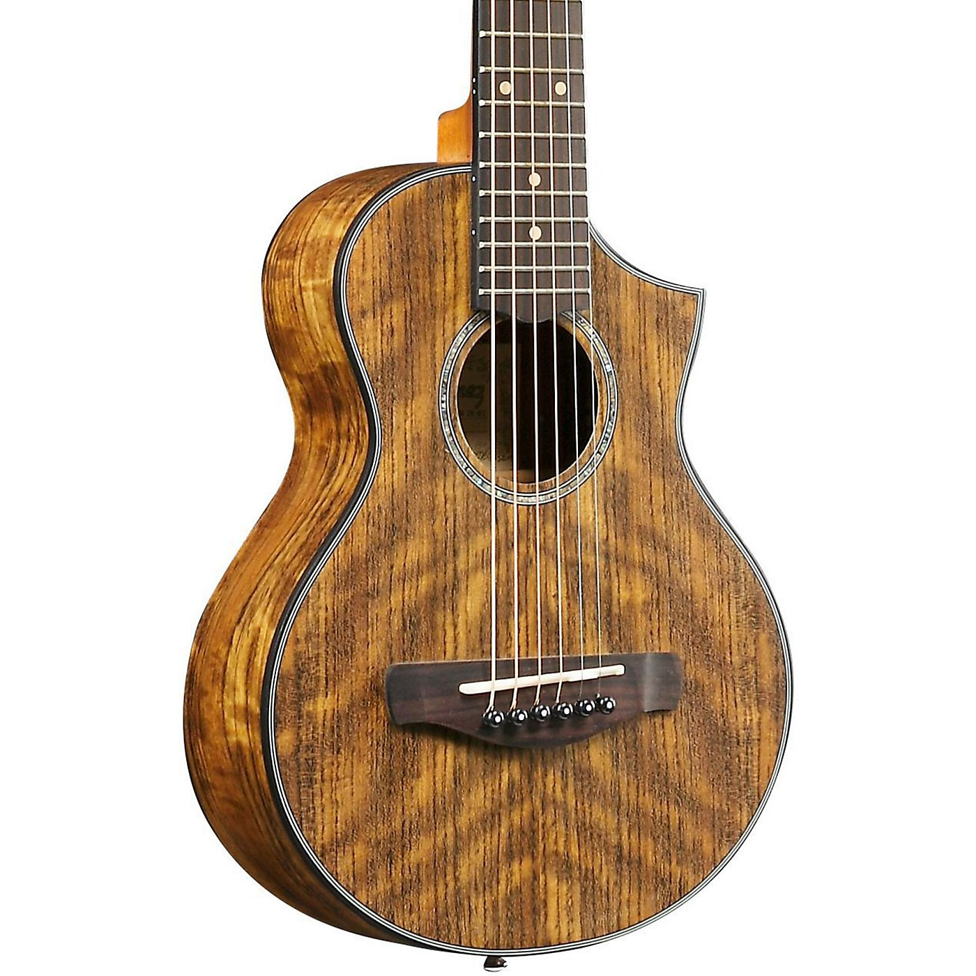 Ibanez EWP14OPN Exotic Wood Piccolo Acoustic Guitar thumbnail